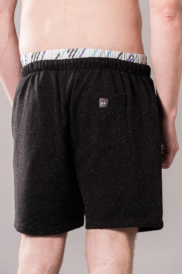 Organic cotton shorts black | soki Kassel