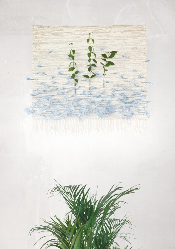 Wall hanging 'IN VITRO SKY' | EFFI HOME COUTURE