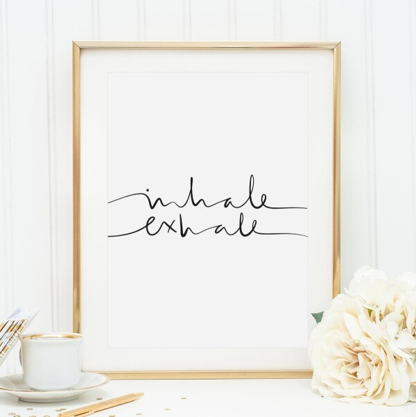 Tales by Jen Art Print: Inhale Exhale | Tales by Jen
