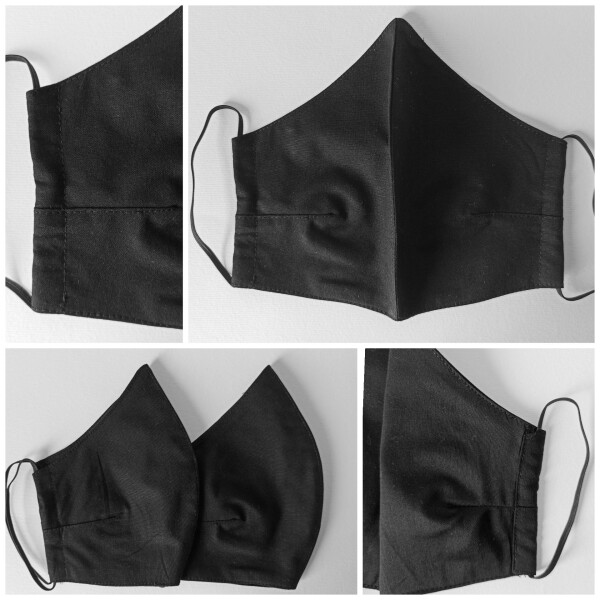 2 stuck_ mouth and nose mask / set 2-Cotton Face Mask-2ply | Ariee Home & Gifts