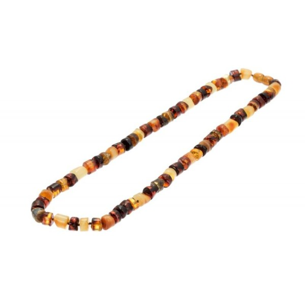 Multicolored Amber Necklace | BalticBuy