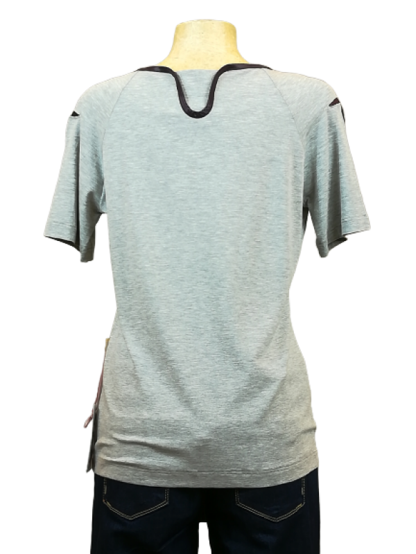 Light gray yoga shirt | Florentine Kriess