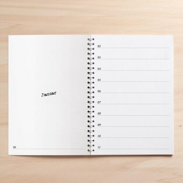 A5 calendar / diary