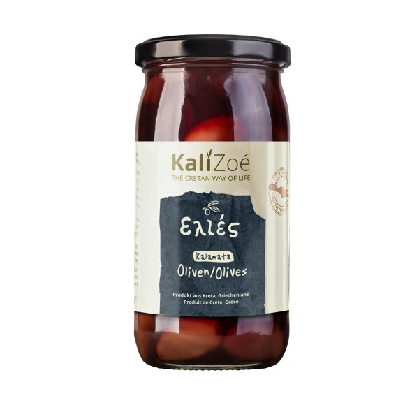 Kalamata olives black from Crete | Kali Zoé