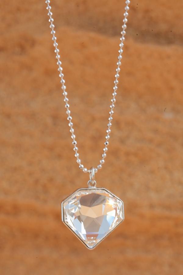 artjany chain illusion chaton silver | artjany - Kunstjuwelen