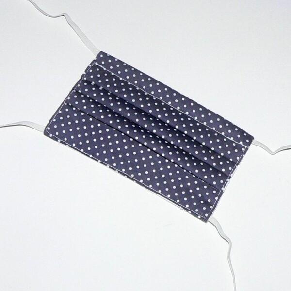 Children's mask to tie anthracite | Eva Brachten Modedesign
