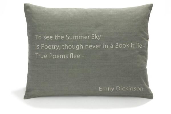 Pillow _Dickinson | Lotus Collection