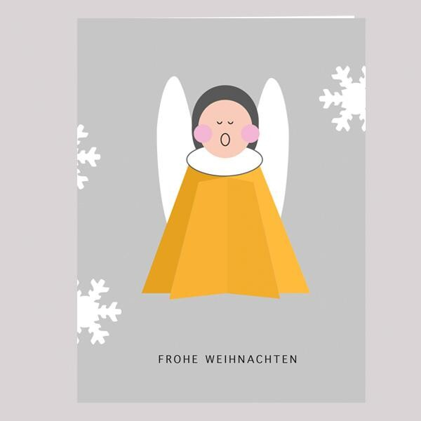 PopUp Christmas Card Angel | not the girl who misses much