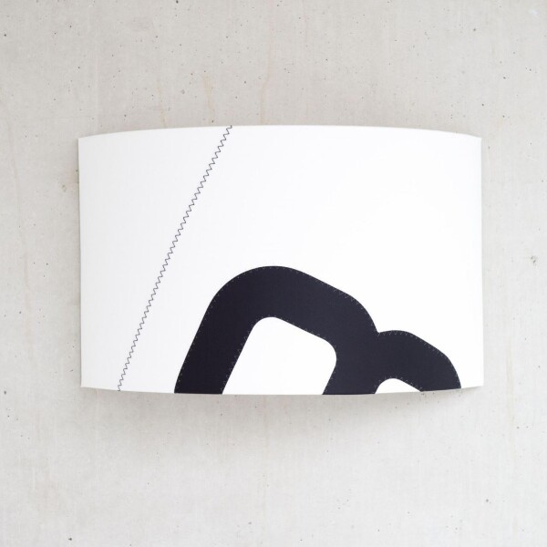 Maritime wall lamp home port of sail with wall connection | lumbono