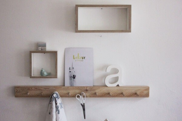 Hook strip made of wood | Herzberg