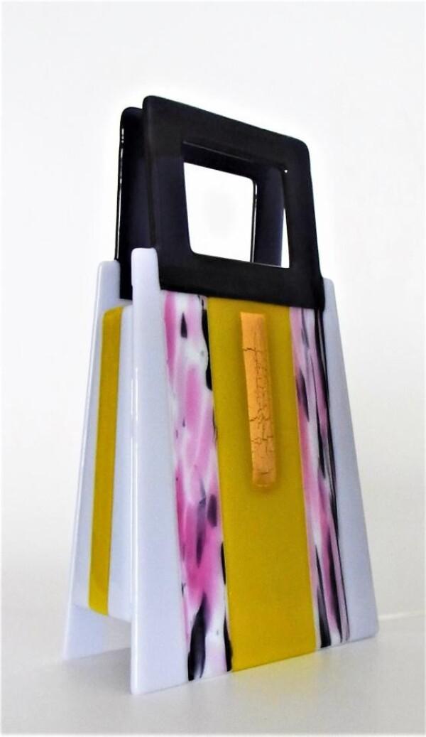 Purple magenta light object | Design Elena