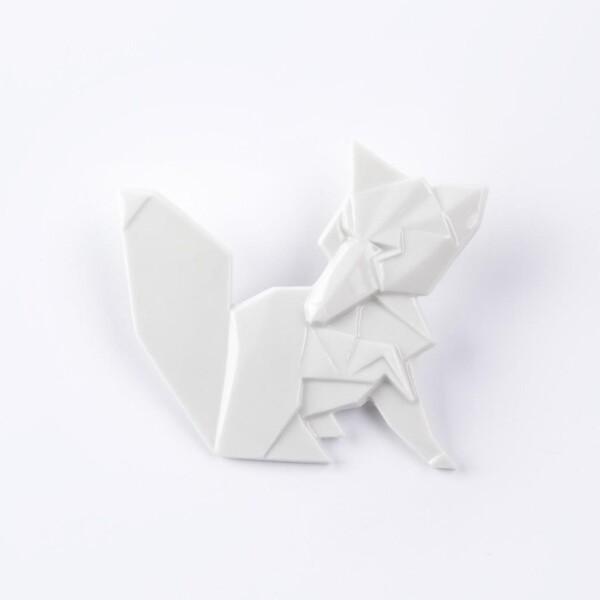 Fox brooch Kitsune | FashionShop PARAZIT