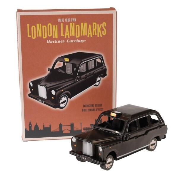 3D Puzzle Classic London Cab   Großmanns WhiteTrashWonderland