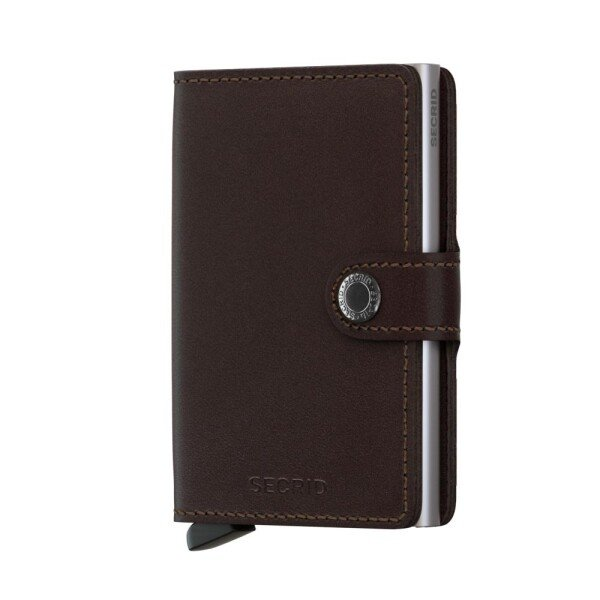 Miniwallet Original Dark Brown | LAMARI BERLIN