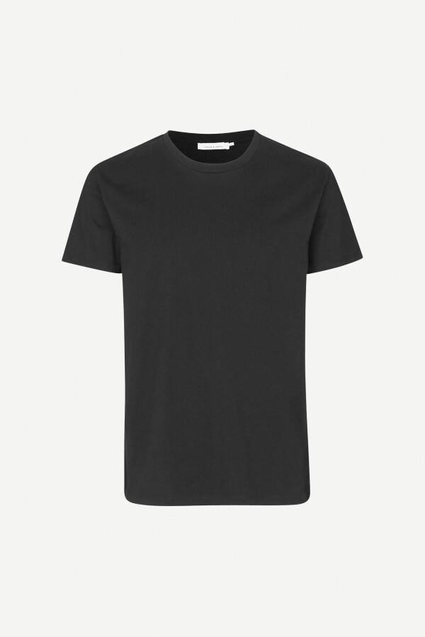 SamsoeSamsoe Black Kronos T-Shirt | MAERZ