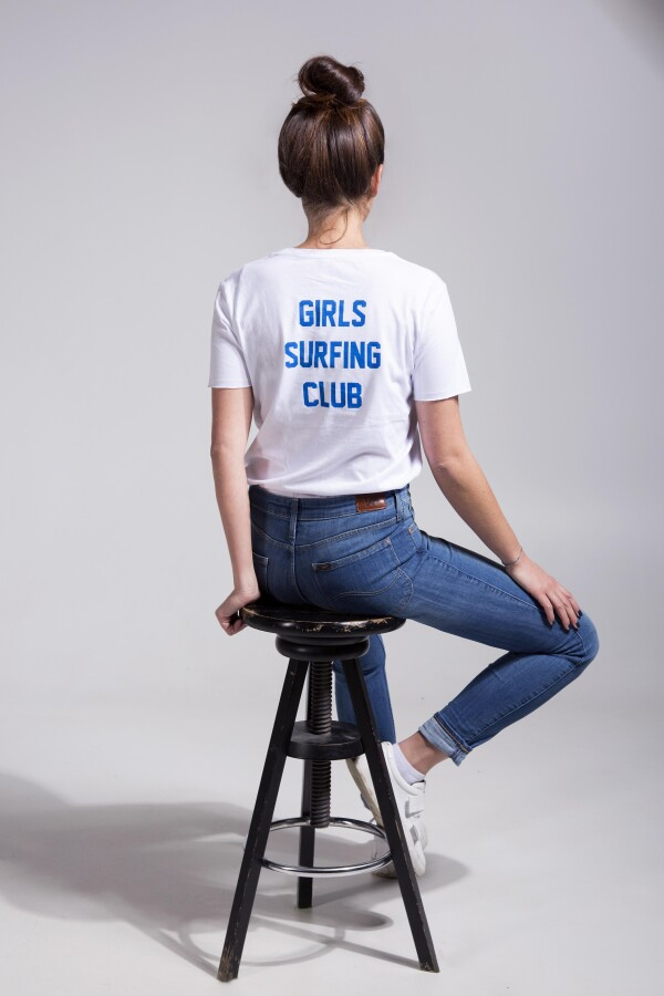Girls Surfing Club Ladies T-Shirt | Magasin 2