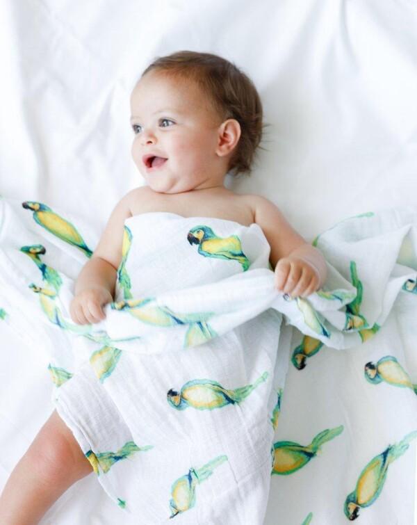 Malabar baby swaddle set Tropical Paradise | Antonia'z