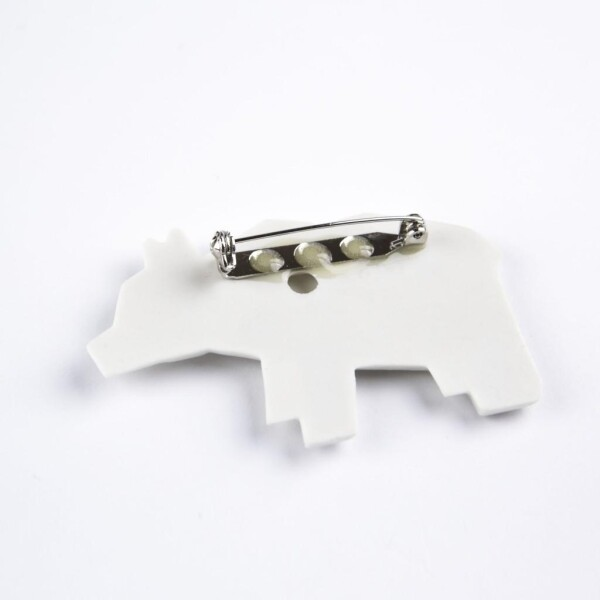 Bear brooch Kuma | FashionShop PARAZIT