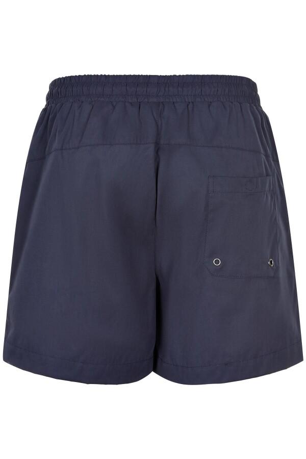 Anerkjendt Dark Navy Akshark swim shorts | MAERZ