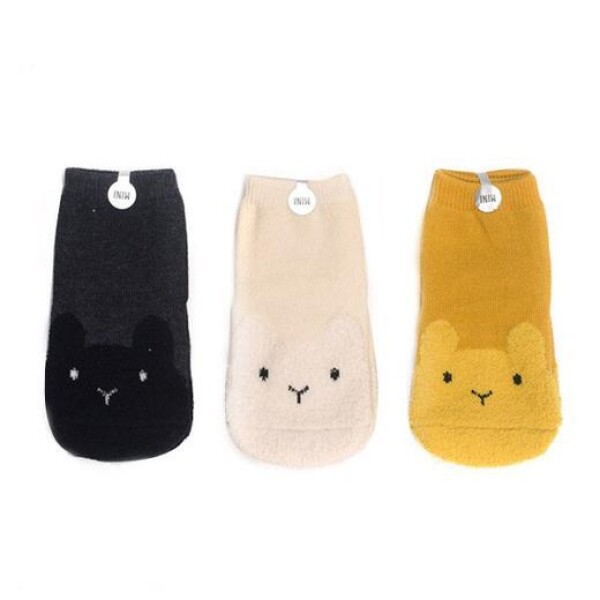Bunny socks 3 sets   das goodshaus