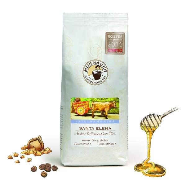 Murnauer Kaffeerösterei - Santa Elena - Costa Rica - 1000gr - Ganze Bohne | Murnauer Kaffeeroesterei