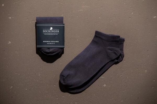 SOCKINGER FOOTWEAR in navy blue | Sockinger-Die Sockenmanufaktur
