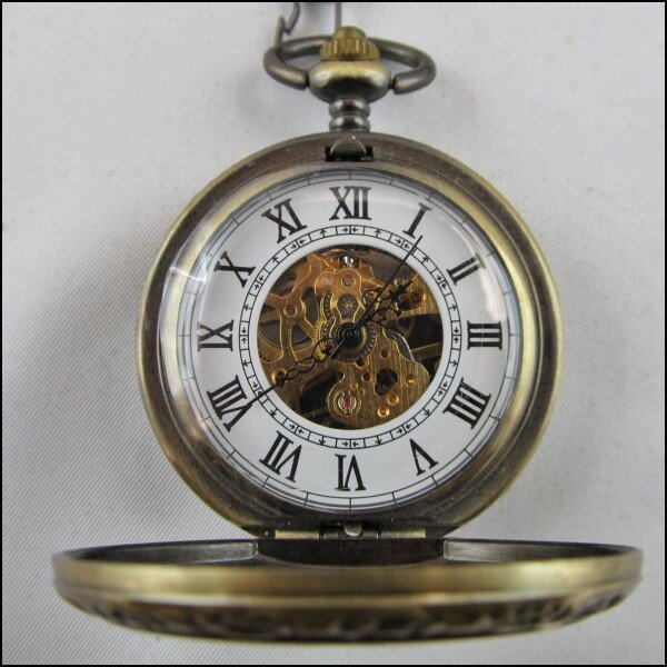 Great teatime - mechanical pocket watch DUPLICATE | Carol and Me