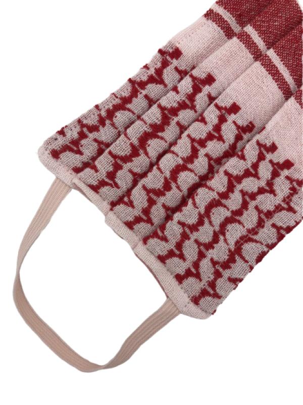 Makeshift mouthguard mask Pali red-pink / white | Imkerei Nengel