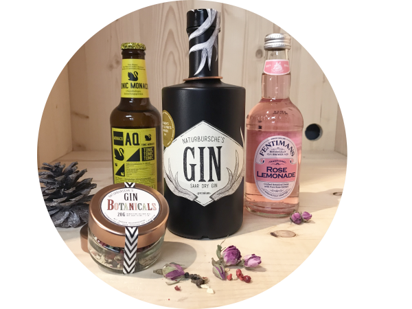 Gin box for the ladies | Naturbursche