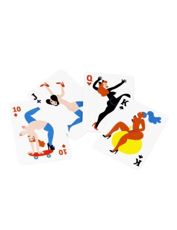 Normann Copenhagen - Manikhin Playing Cards | Silverview