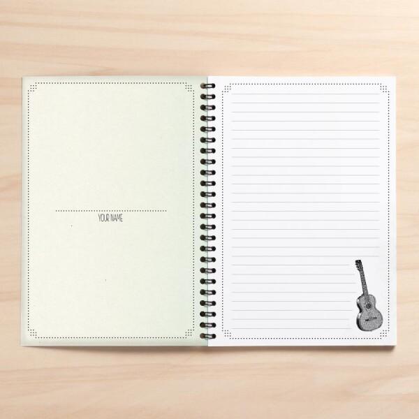 A5 songwriter notebook 'Berlin City musicians' | Amy and Kurt Berlin
