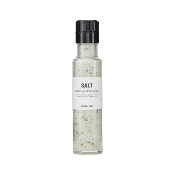 Nicolas Vahé salt mill Parmesan basil | NOORD Frankfurt
