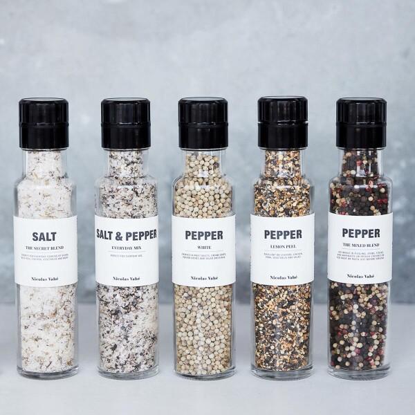 Nicolas Vahé salt mill salt and pepper | NOORD Frankfurt