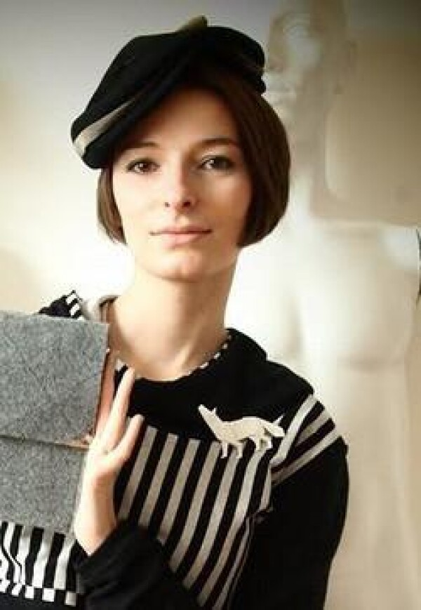 Crane brooch Span   FashionShop PARAZIT