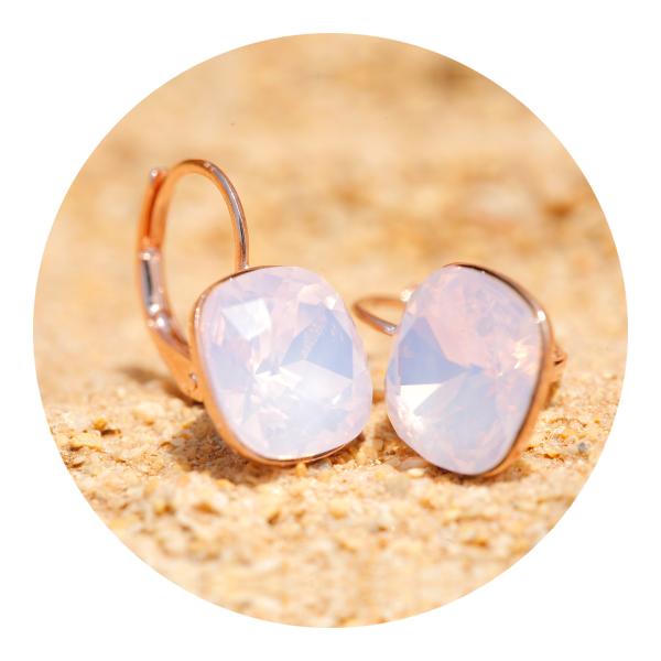 Artjany earring rosewater opal | artjany - Kunstjuwelen