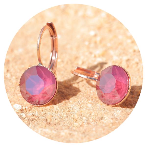Artjany earrings royal red | artjany - Kunstjuwelen