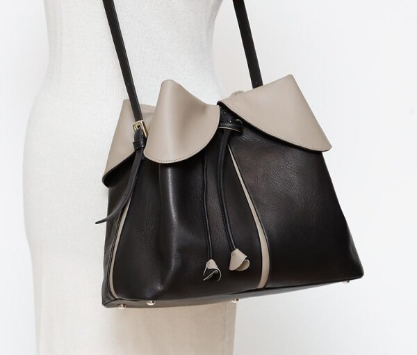 Ostwald leather handbag - hand made - fair trade | ARTandDESIGN-HOUSE