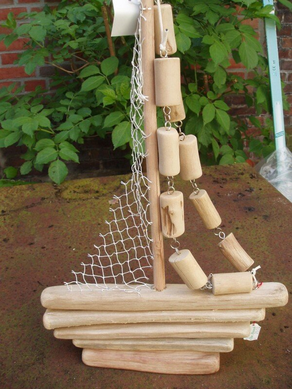 Driftwood sailors for hanging or standing | Haack am Markt