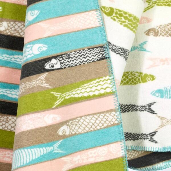 Sardine blanket from padconcept | Das Lädchen