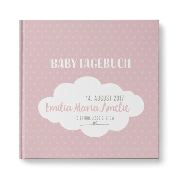Personalized baby diary