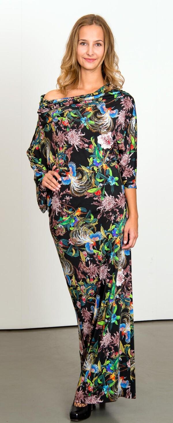 Asymmetrical evening dress | L - GABRIELLE