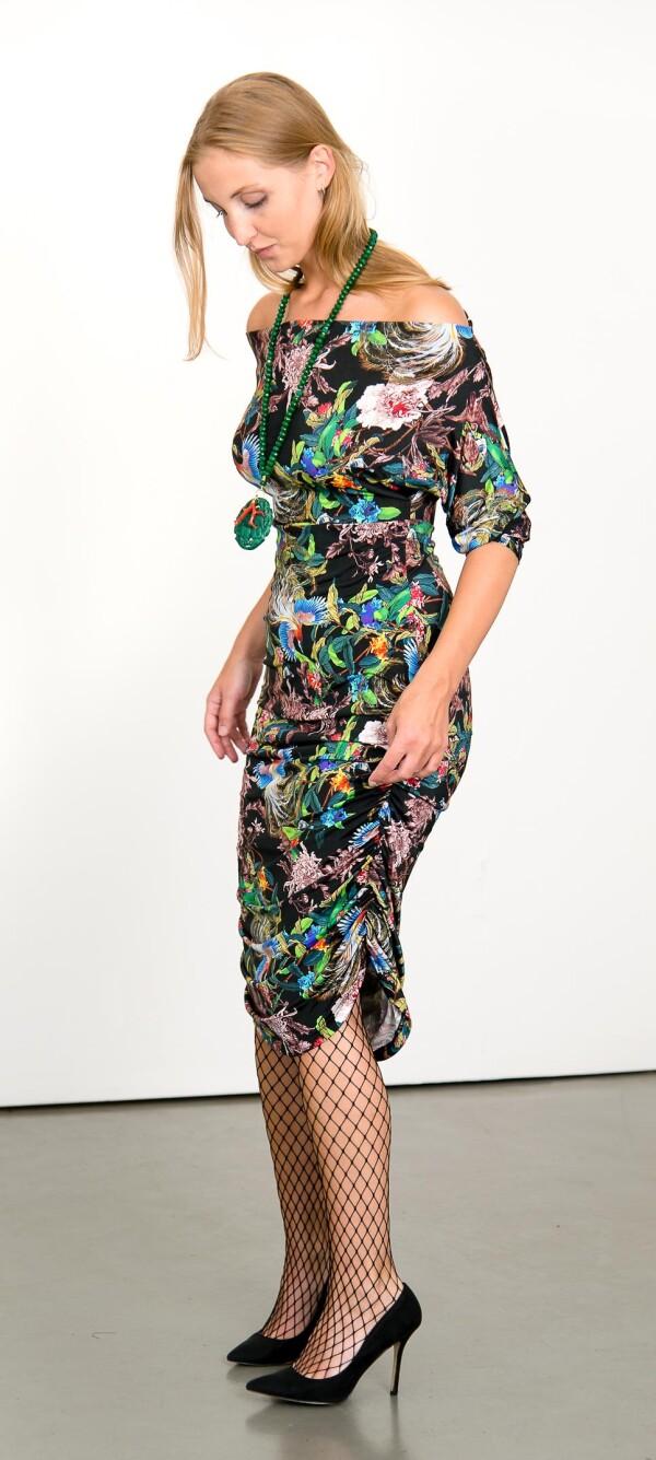 Offshoulder cocktail dress | L - GABRIELLE