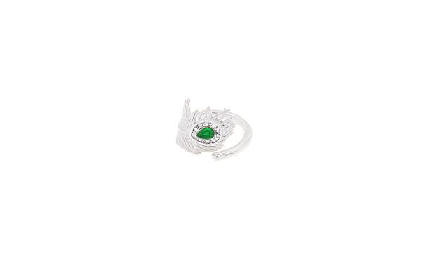 Ring Peacock Silver | HLC Jewellery