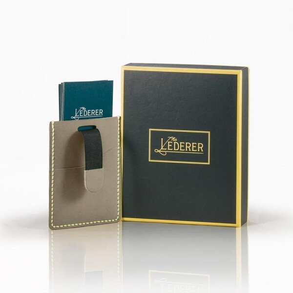 Pull Card Holder - Leather Stitching Pack | The Lederer