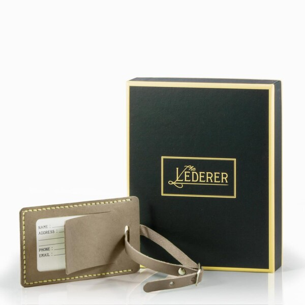 Luggage Tag - Leather Stitching Pack | The Lederer