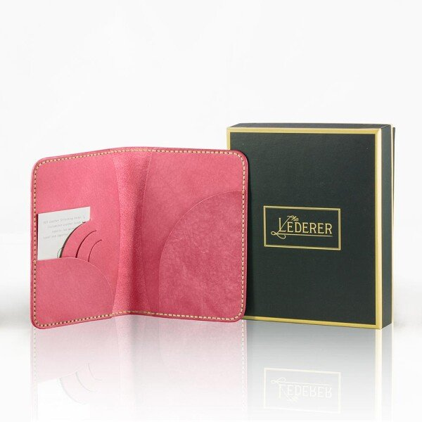 Passport Holder II - Leather Stitching Pack | The Lederer