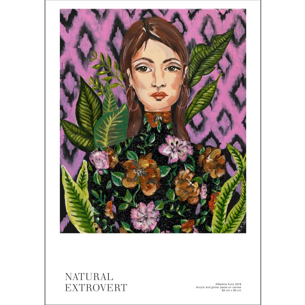 NATURAL EXTROVERT -Limited and signed art print | Atelier Nadine Kulis