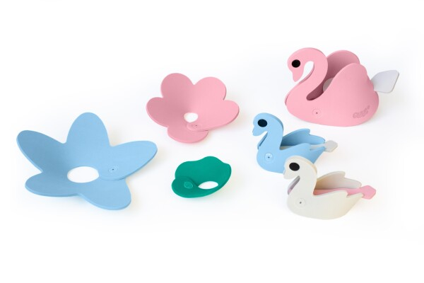 Puzzle Swan 3D bath toys | Murmelwald