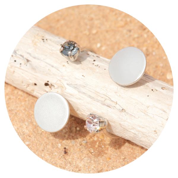 artjany ring denim blue silver   artjany - Kunstjuwelen