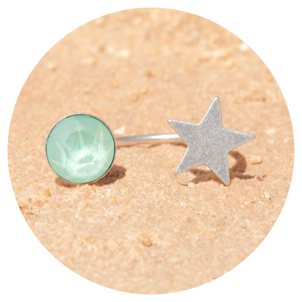 artjany ring mint green | artjany - Kunstjuwelen